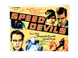 Speed Devils  from Left  Russell Hardie  Marguerite Churchill  Paul Kelly  1935