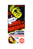 House of Frankenstein  from Top: Boris Karloff  Bottom: Anne Gwynne  1944