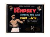 Winning His Way  Jack Dempsey  Esther Ralston  (Top Left)  1924