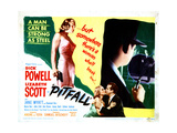 Pitfall Lizabeth Scott  Dick Powell  1948