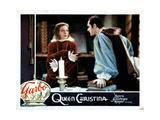 Queen Christina  from Left  Greta Garbo  Edward Norris  1933