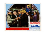 Stagecoach  from Left  Berton Churchill  John Wayne  Andy Devine  George Bancroft  1939