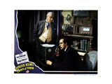 Sherlock Holmes and the Voice of Terror  from Left  Nigel Bruce  Basil Rathbone  1942