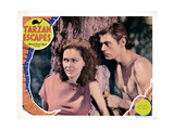 Tarzan Escapes  from Left  Maureen O'Sullivan  Johnny Weissmuller  1936