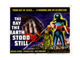 The Day the Earth Stood Still  Michael Rennie  Patricia Neal  1951
