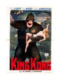King Kong  Italian Poster Art  1933
