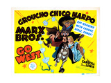 Go West  Chico Marx  Groucho Marx  Harpo Marx [The Marx Brothers]  1940