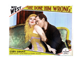 She Done Him Wrong  from Left  Mae West  Owen Moore  1933