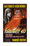 Fahrenheit 451  from Left: Julie Christie  Oskar Werner  1966