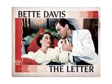 The Letter  from Left  Bette Davis  Herbert Marshall  1940