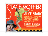 Stage Mother  from Left  Maureen O'Sullivan  Alice Brady  1933