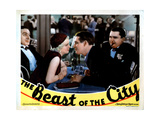 The Beast of the City  from Left  J Carrol Naish  Jean Harlow  Wallace Ford  Jean Hersholt  1932