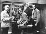 My Darling Clementine  from Left: Ben Hall  Henry Fonda as Wyatt Earp  Ward Bond  Tim Holt  1946
