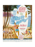 Blue Hawaii  Bottom Center: Elvis Presley on Poster Art  1961