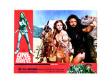 One Million Years  BC  from Left  Front  Raquel Welch  John Richardson  1966
