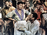 Porgy and Bess  Back to Front: Pearl Bailey  Sidney Poitier  1959