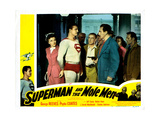 Superman and the Mole Men  from Left: Phyllis Coates  George Reeves  Jeff Corey  1951
