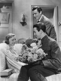 The Shopworn Angel  from Left: Margaret Sullavan  James Stewart  Walter Pidgeon (Rear)  1938