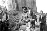 The Searchers  from Left: Harry Carey Jr  John Wayne  Hank Worden  1956