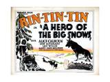 A Hero of the Big Snows  Rin Tin Tin  1926