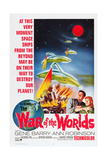 The War of the Worlds  Bottom from Left: Gene Barry  Ann Robinson  1953