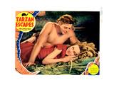 Tarzan Escapes  Johnny Weissmuller  Maureen O'Sullivan  1936