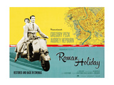 Roman Holiday  British Re-Release Poster Art  1953