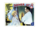 Dinner at Eight  (AKA Dinner at 8)  from Left  Jean Harlow  Wallace Beery  1933