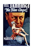 The Blue Angel  Marlene Dietrich  Emil Jannings (Rear)  1930
