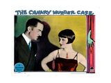 The Canary Murder Case  from Left: William Powell  Louise Brooks  1929