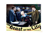 The Beast of the City  from Left: Jean Hersholt  Tully Marshall  Jean Harlow  Walter Huston  1932