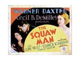The Squaw Man  from Left: Lupe Velez  Warner Baxter  Eleanor Boardman  1931