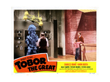 Tobor the Great  Taylor Holmes (Back to Picture)  Charles Drake  Billy Chapin 1954