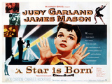 A Star Is Born  Center: Judy Garland on Poster Art  1954