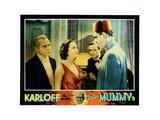 The Mummy  from Left: Edward Van Sloan  Zita Johann  David Manners  Boris Karloff  1932