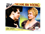 She Done Him Wrong  from Left  Cary Grant  Mae West  1933