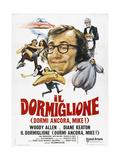 Sleeper  Woody Allen  Diane Keaton  1973  Italian Ad Art