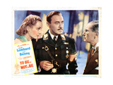 To Be or Not to Be  from Left: Carole Lombard  Jack Benny  Charles Halton  1942
