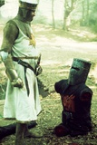 Monty Python and the Holy Grail  from Left: Graham Chapman as King Arthur  John Cleese  1975