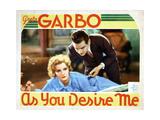 As You Desire Me  from Left  Greta Garbo  Melvyn Douglas  1932