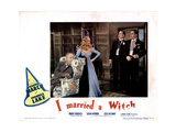 I Married a Witch  from Left  Cecil Kellaway  Veronica Lake  Robert Benchley  Fredric March  1942
