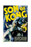 The Son of Kong  Poster  from Left: Robert Armstrong  Helen Mack  1933