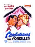 Pillow Talk  (AKA Confidences Sur L'Oreiller)  from Left: Rock Hudson  Doris Day  1959