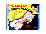 The Girl from Missouri  from Left  Jean Harlow  Franchot Tone  1934
