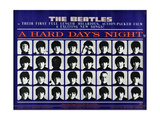 A Hard Day's Night  British Poster  (Top to Bottom)  1964