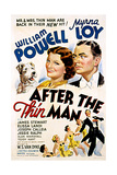 After the Thin Man  Asta  Myrna Loy  William Powell  1936