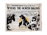 Where the North Begins  Rin Tin Tin  1923