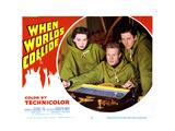 When Worlds Collide  Barbara Rush  Richard Derr  Peter Hanson  1951