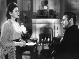The Ghost and Mrs Muir  Gene Tierney (Wearing a Costume Designed by Oleg Cassini)  1947