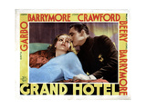 Grand Hotel  from Left  Greta Garbo  John Barrymore  1932
